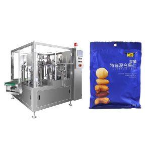 Tahke pulbri või tahkete osakeste automaatse täitekatete pakkimismasin