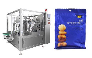 eelnevalt valmistatud kott toidu granule täitmine suletav pakkimismasin