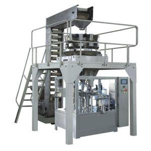 Automaatne premade graanulid kaalumisel täitmine ja pitseerimine tootmisliini