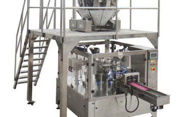 automaatne pöörleva toidu pakkimismasin, tõmblukk