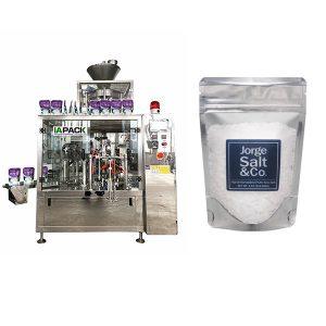 Automaatne Rotary premade kott pakkemasin soola jaoks