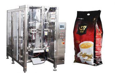 kohvi quad kott vorm täitke hüljest pakkimismasin