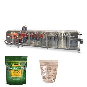 Doypack pulber graanulid, pakkides horisontaalset vormi täitetihendi masinat