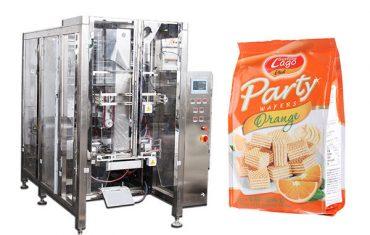 täielik automaatne toidu quad hermeetilisem koti pakkimismasin