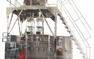 horisontaalne ettevalmistatud pakendamismasin koos mitmepealse kaaluga