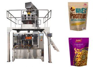 pähklid tõmblukuga automaatne täitepakk masin