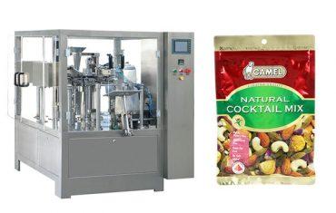 pähklid pöörleva tõmblukuga paki masin