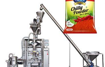 vffs bagger pakendamismasin täiteainega paprika ja tšilli toidu pulber
